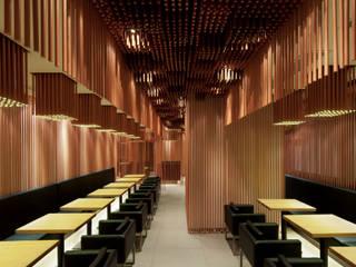七叶和茶 新天地店 モダンな商業空間 の 株式会社KAMITOPEN一級建築士事務所 モダン
