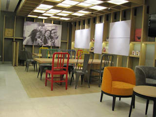 CHENNAI FLAGSHIP STORE COFFEE SHOP Studioapart Interior & Product design Barcelona Bars & clubs
