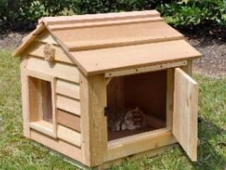 günsoy orman ürünleri – Ahşap Kedi Evi modelleri 1:  tarz
