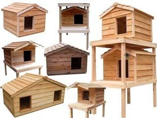 günsoy orman ürünleri – Ahşap Kedi Evi modelleri 3:  tarz