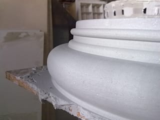 Fibreglass mould,  building column:  Terrace house by Buildart - Fibreglass Specialists