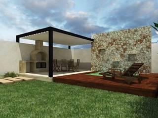 Casa Anse Balcones y terrazas modernos de Pangea Arquitectura & diseño Moderno