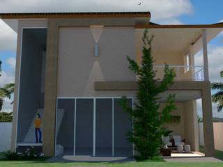 Fachada Residencial por Mariana Bittencourt Arquitetura Moderno