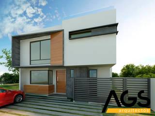"""PROYECTO """"RIOJA"""" Casas modernas de AGS Arquitectos Moderno"""