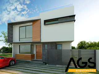 "PROYECTO ""RIOJA"": Casas de estilo  por AGS Arquitectos"
