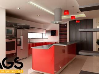 "PROYECTO ""RIOJA"": Cocinas de estilo  por AGS Arquitectos"