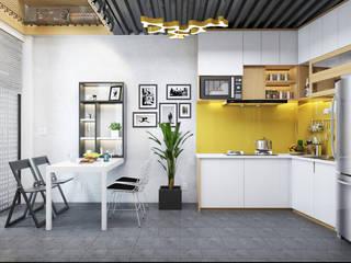 MINIHOUSE BINHTHANH: công nghiệp  by MEG Design Studio, Công nghiệp