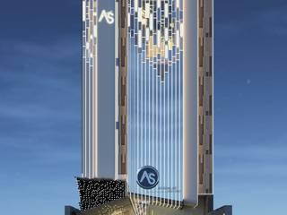 ANHSAO Showroom lighting bởi MEG Design Studio Hiện đại