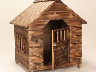 köpek Kulübesi Modelleri #2 AHŞAP SEPETİ