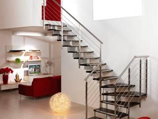 FMS METAL – Merdiven ve Korkuluk çalışmaları:  tarz Merdivenler