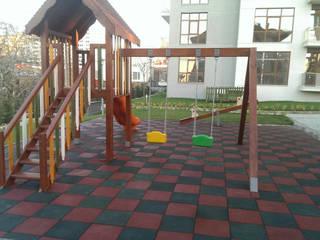 Ahşap Oyun Parkı #2 AHŞAP SEPETİ
