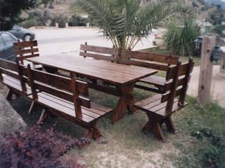 Ahşap Pİknik Masası Modelleri #2 AHŞAP SEPETİ