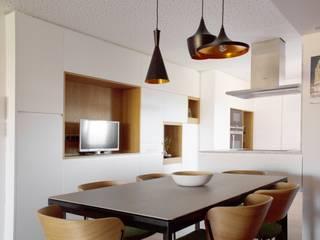 Casa JB en Murcia Comedores de estilo moderno de 2J Arquitectura Moderno