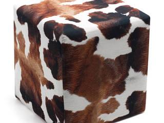 Milky Puf K105 Mobilya Pazarlama Danışmanlık San.İç ve Dış Tic.LTD.ŞTİ. Oturma OdasıTabure & Sandalyeler Ahşap Kahverengi