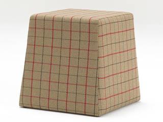Ekose Piramit Puf Krem K105 Mobilya Pazarlama Danışmanlık San.İç ve Dış Tic.LTD.ŞTİ. Oturma OdasıTabure & Sandalyeler Ahşap Bej