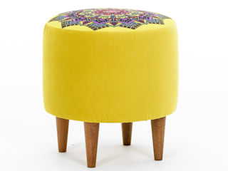 K105 Mobilya Pazarlama Danışmanlık San.İç ve Dış Tic.LTD.ŞTİ. Salas/RecibidoresTaburetes y sillas Madera Multicolor