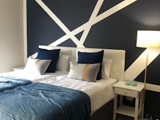 Lets get Graphic! Modern style bedroom by Adore Design Modern