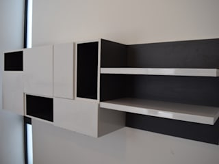 Librero de Simetrica Minimalista