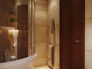 Salle de bain moderne par студия Design3F Moderne