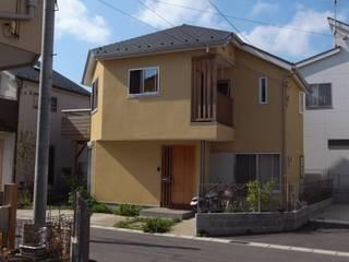 松戸市高塚の家: 麻生英之建築設計事務所が手掛けた木造住宅です。