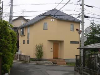 市川市宮久保の家: 麻生英之建築設計事務所が手掛けた木造住宅です。