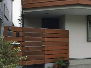 目黒の家: 麻生英之建築設計事務所が手掛けた木造住宅です。