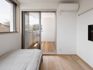 스칸디나비아 침실 by atelier137 ARCHITECTURAL DESIGN OFFICE 북유럽 우드 우드 그레인