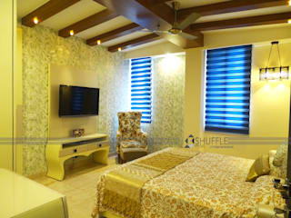 Great Value Sharnam - penthouse Design Classic style bedroom by Shuffle pages Classic