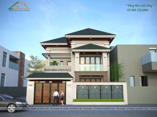 Biệt thự hiện đại tại Ứng Hòa - Hà Nội bởi Công ty CP kiến trúc và xây dựng Eco Home