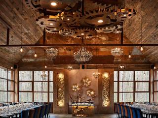 Интерьер главного зала ресторана: Ресторации в . Автор – Архитектурно-производственная группа ИОЛЛА