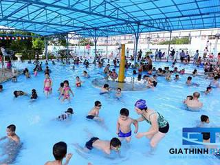 تنفيذ Gia Thịnh Pool Giải Pháp Tốt Nhất Cho Hồ Bơi & Spa