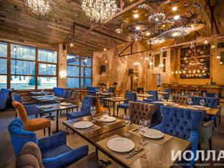 Интерьер основного зала ресторана: Ресторации в . Автор – Архитектурно-производственная группа ИОЛЛА