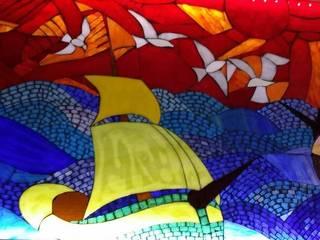 Mozaik Sanat Evi Paredes y pisosCuadros y marcos Azulejos