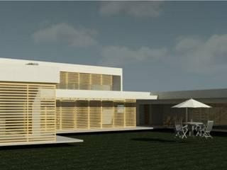 Casa en Calera de Tango de Casas del Girasol- arquitecto Viña del mar Valparaiso Santiago Minimalista