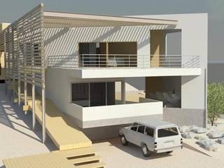 Casa en Bahía Inglesa de Casas del Girasol- arquitecto Viña del mar Valparaiso Santiago Moderno