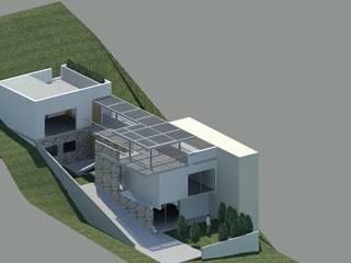 Casa en Recreo de Casas del Girasol- arquitecto Viña del mar Valparaiso Santiago Moderno