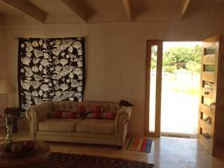 Salon de style  par Casas del Girasol- arquitecto Viña del mar Valparaiso Santiago, Rustique