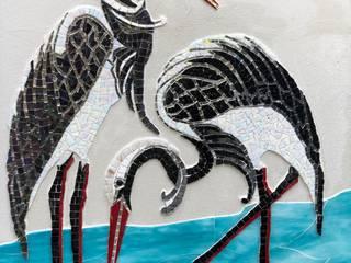Mozaik Sanat Evi JardínMuros y vallas Azulejos