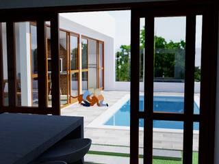 Projeto Residencial GP por Candido & Candido - Arquitetura | Engenharia Moderno