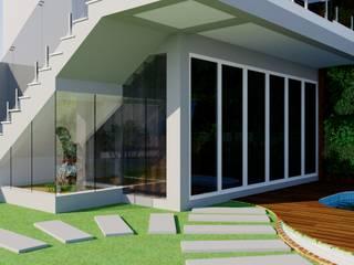 Quiosque por Candido & Candido - Arquitetura | Engenharia Moderno