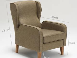 K105 Mobilya Pazarlama Danışmanlık San.İç ve Dış Tic.LTD.ŞTİ. Living roomSofas & armchairs Wood Brown