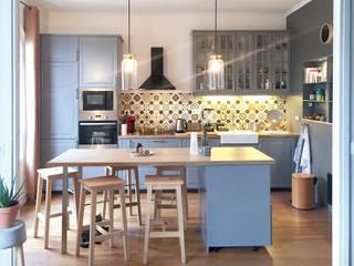 SOISSONS - Rénovation complète d'un appartement de 60m2 par SOHA CONCEPTION Moderne