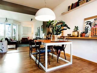 Milano House Sala da pranzo moderna di Principioattivo Architecture Group Srl Moderno