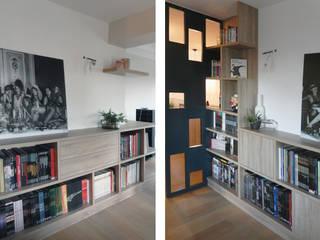 CLAUSTRA Couloir, entrée, escaliers modernes par SOHA CONCEPTION Moderne
