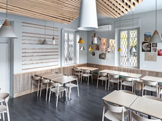 Veratti - Pizzeria Casul Gourmet Gastronomia in stile moderno di Principioattivo Architecture Group Srl Moderno