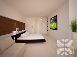 Bedroom by HHRG ARQUITECTOS