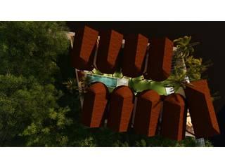 CABAÑAS TULUM:  de estilo  por ARQUITECTURA, DISEÑO, ASESORÍA