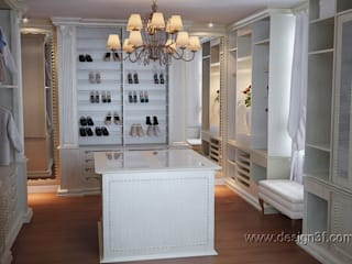 Classic style dressing rooms by студия Design3F Classic
