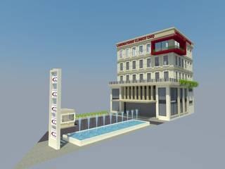 EDIFICIO LABORATORIOS Escuelas de estilo ecléctico de TECTUM Diseño & Construccion Ecléctico