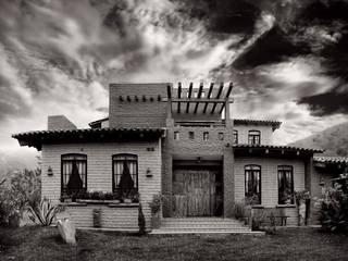 Cabaña Chagolla de Orlando Quiñones Rústico